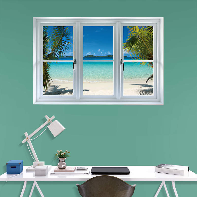 Fake Windows For Walls : A fake window will brighten any room fathead instant