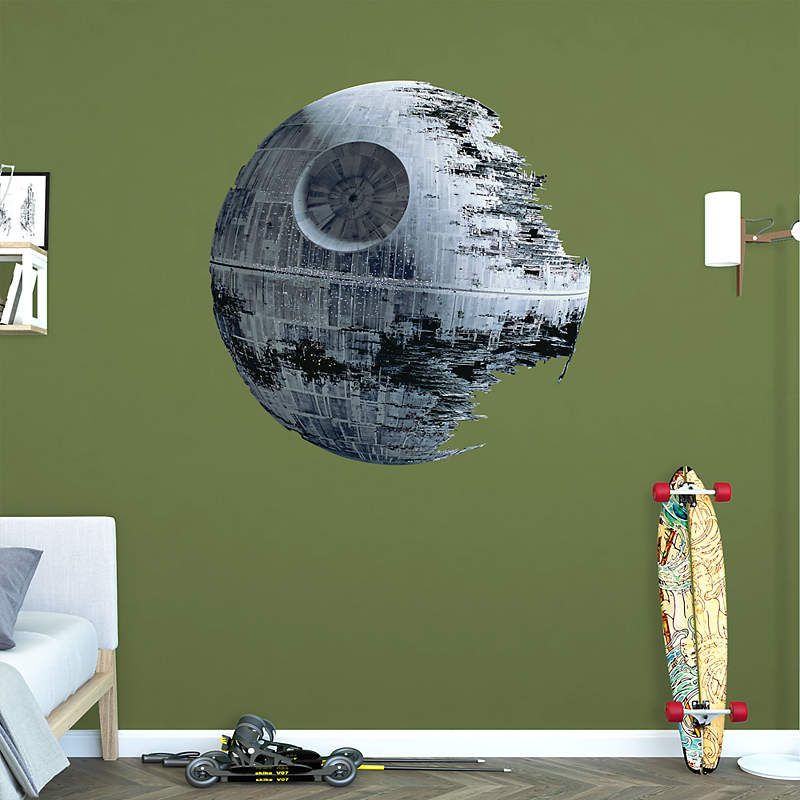 Death star for Death star wall mural