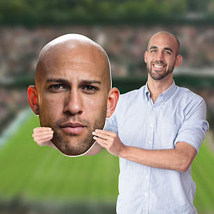 Tim Howard Big Head