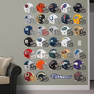 NFL 2013 Helmet Collection