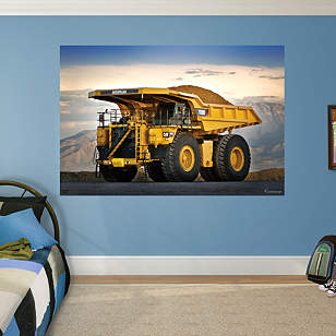 Cat Mining Truck Mural