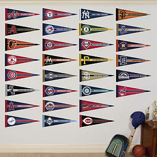 MLB Pennant Collection