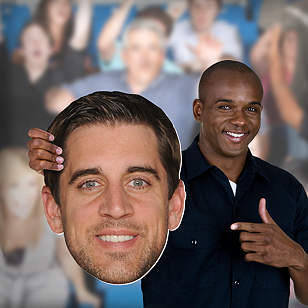 Aaron Rodgers Big Head