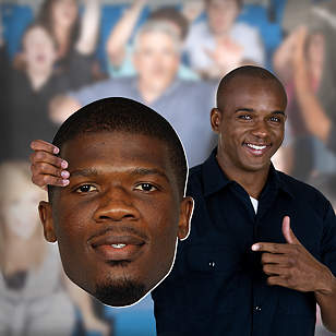 Andre Johnson Big Head