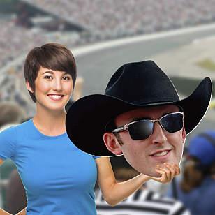 Austin Dillon Big Head