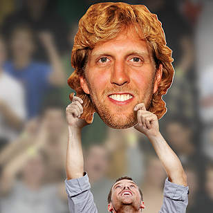 Dirk Nowitzki Big Head