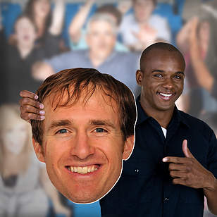 Drew Brees Big Head