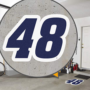Jimmie Johnson Blue #48 Street Grip