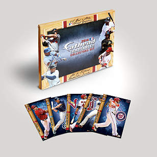 MLB 2014 Tradeables Collector's Set