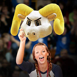 Rameses Big Head - North Carolina Tar Heels
