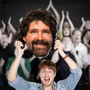 Mick Foley Big Head