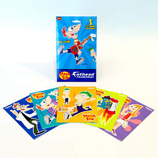 Phineas and Ferb Tradeables Single Pack