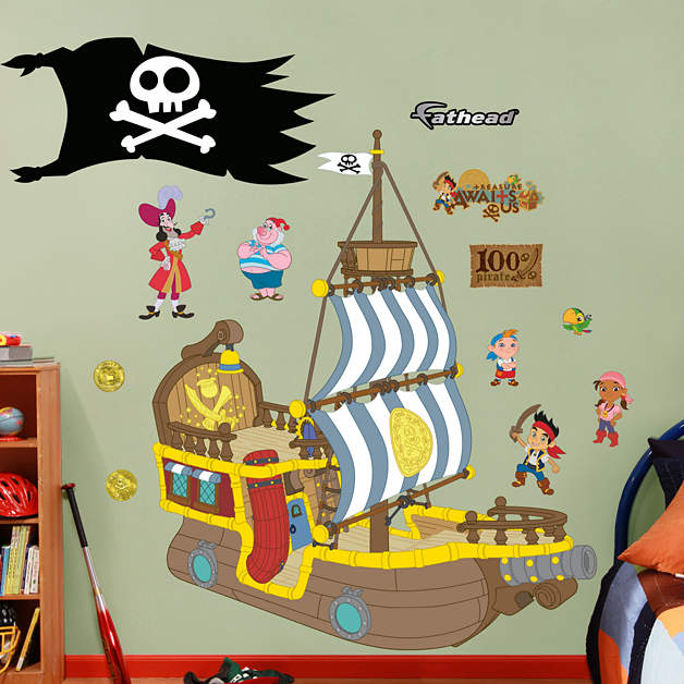 Bucky The Pirate Ship Jake And The Neverland Pirates
