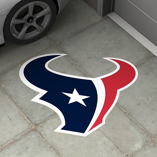 Houston texans street grip outdoor decal shop fathead for Houston texans logo template