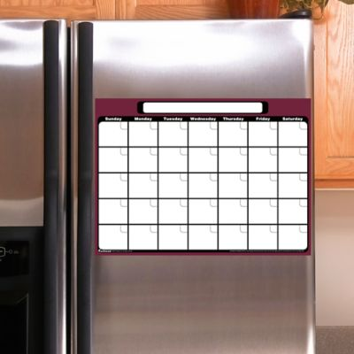 Small 1-Month Dry Erase Calendar Fathead Decal