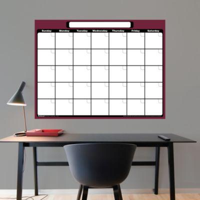 Dry Erase 1-Month Calendar
