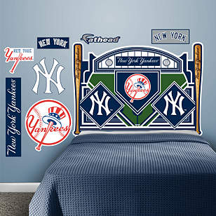 New York Yankees Headboard - Full Bed