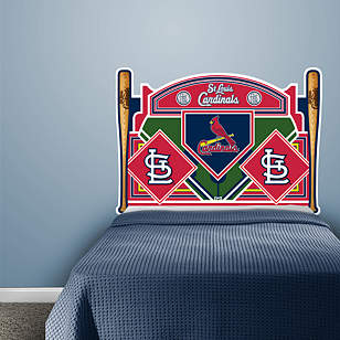 St. Louis Cardinals Headboard - Full Bed