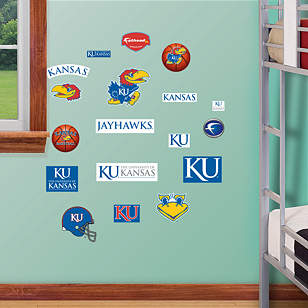 Kansas Jayhawks - Team Logo Assortment
