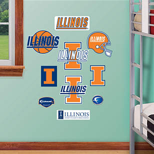 Illinois Fighting Illini - Team Logo Assortment