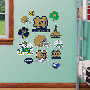 Notre Dame Fighting Irish - Team Logo Assortment