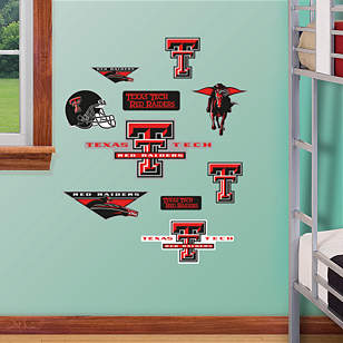 Texas Tech Red Raiders - Team Logo Assortment
