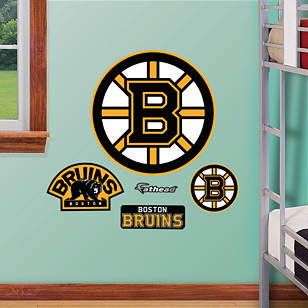 Fathead Jr. - Boston Bruins Logo