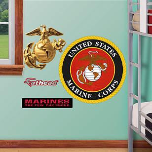 USMC Seal - Fathead Jr.