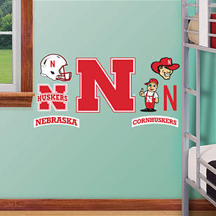 Nebraska Cornhuskers - 2012 Team Logo Assortment