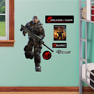 Gears of War: Judgment - Baird Fathead Jr.