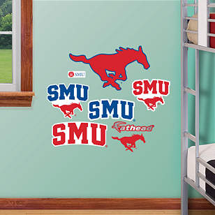SMU Mustangs - Team Logo Assortment
