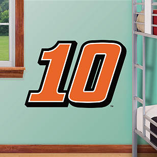 Danica Patrick #10 Logo - Fathead Jr.