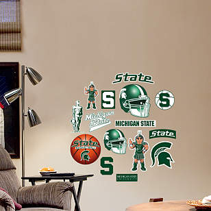 Michigan State Spartans - Team Logo Assortment