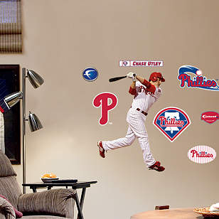 Chase Utley Swing - Fathead Jr.