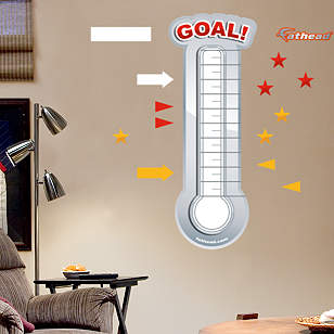 Dry Erase Goal Thermometer