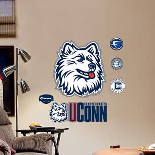 UConn Huskies Logo - Fathead Jr.