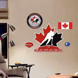 Fathead Jr. - Team Canada Logo
