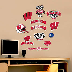 Wisconsin Badgers - Team Logo Assortment