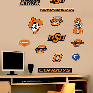 Oklahoma State Cowboys - Team Logo Assortment