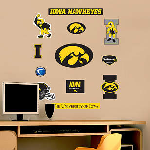 Iowa Hawkeyes - Team Logo Assortment