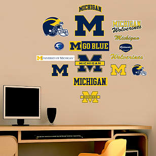 Michigan Wolverines - Team Logo Assortment