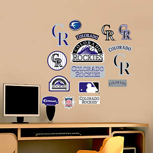 Colorado Rockies - Team Logo Assortment