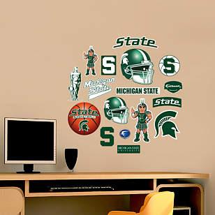 Michigan State Spartans - Team Logo Assortment