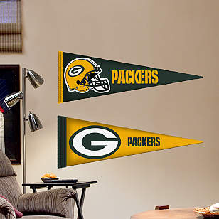 Green Bay Packers Pennants - Fathead Jr.