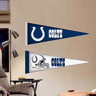 Indianapolis Colts Pennants - Fathead Jr.