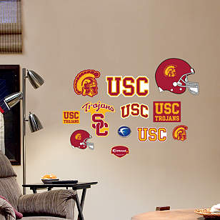 USC Trojans - Team Logo Assortment