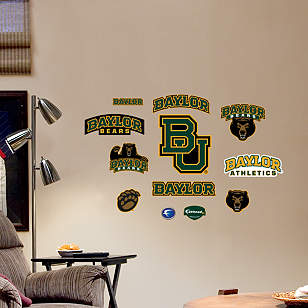 Baylor Bears - Team Logo Assortment