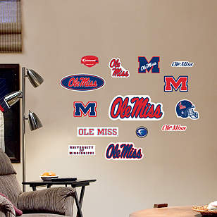 Ole Miss Rebels - Team Logo Assortment