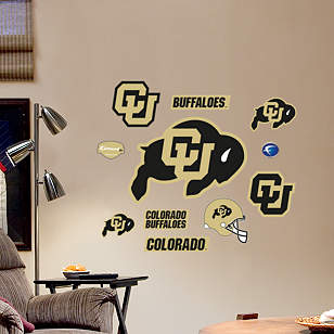 Colorado Buffaloes - Team Logo Assortment