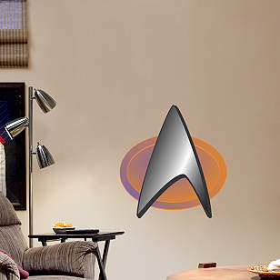 Star Trek: The Next Generation Insignia - Fathead Junior